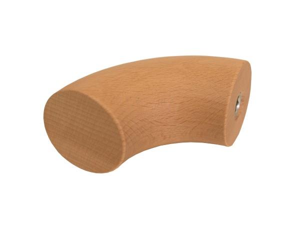 Holzhandlauf Rundbogen in Buche