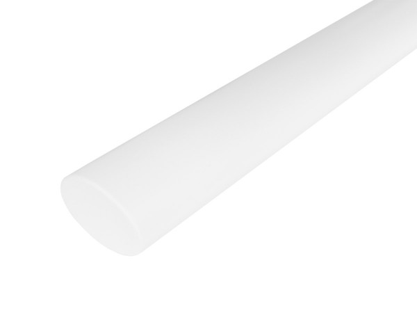 Holzhandlauf Oval in Eiche Weiß
